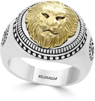 Effy Gento Lion Sterling Silver Band Ring