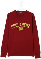 DSQUARED2 1964 logo print top