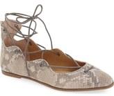 Lucky Brand 'Billoh' Gillie Wraparound Flat (Women)