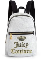 Juicy Couture Heritage Velour Backpack
