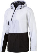 Puma Men's Evo Tech Colorblocked Half-Zip Windbreaker