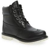 Timberland Women's Brogue Top Shelf Collection Waterproof Boot