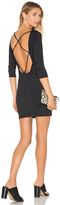 David Lerner Back Strappy 3/4 Sleeve Dress