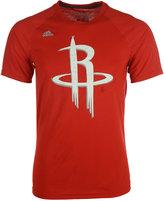 adidas Men's Houston Rockets Quick Draw Climalite T-Shirt