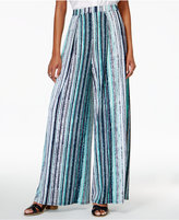 Bar III Striped Wide-Leg Pants, Created for Macy's