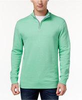 Club Room Men's Quarter-Zip Sweatshirt, Only at Macy's