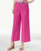 INC International Concepts Cropped Wide-Leg Pants, Created for Macy's