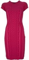 McQ by Alexander McQueen Textured-knit dress