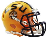 NCAA LSU Tigers Riddell Speed Mini Helmet - Gold