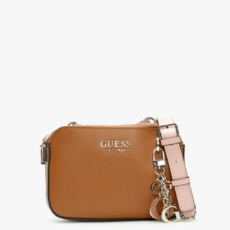 GUESS Sherol Convertible Cognac Multi Cross-Body