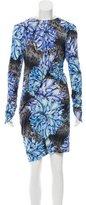 Peter Pilotto Floral Print Knee-Length Dress