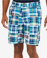 """Nautica Men's Fashion Madras Plaid 8.5"""" Shorts"""