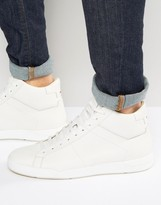 HUGO BOSS Hugo By Fusion Textured High Top Sneakers
