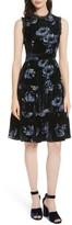 Kate Spade Women's Night Rose Velvet Dress