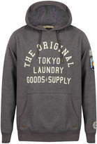 Tokyo Laundry Men's Timberfield Hoody - Charcoal