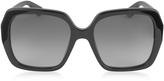Gucci GG0096S 001 Black Acetate Square Women's Sunglasses