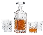 Godinger Dublin Whiskey Set (5 PC)