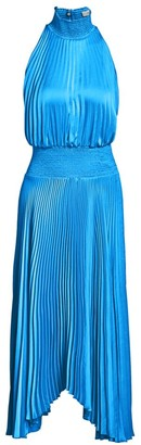 A.L.C. Renzo Pleated Blouson Dress