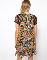 Love Swing Dress In Floral Print
