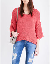 Free People Halo chunky-knit jumper