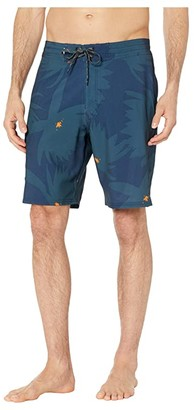 Quiksilver Waterman Angler Forest 20 Beachshorts (Navy Iris) Men's Swimwear
