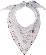 Michael Stars Embellished Bandit Triangle Scarf Scarves
