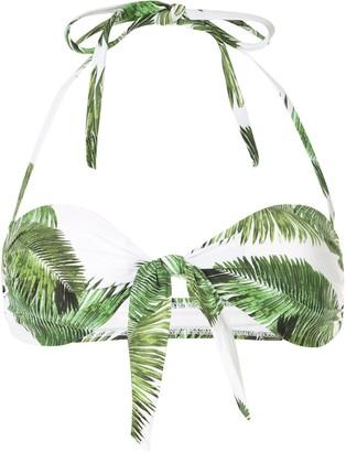 Melissa Odabash Caribe foliage print bikini top