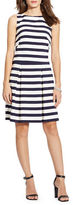 Lauren Ralph Lauren Striped Fit-and-Flare Dress