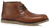 Red Tape Brown 'tiffey' Leather Lace Up Boots