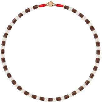 Roxanne Assoulin Lychee wood necklace