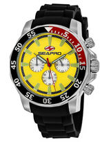 Seapro Sea-Pro Scuba Explorer Mens Black Strap Watch-Sp8333