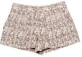 Proenza Schouler Tweed Mini Shorts
