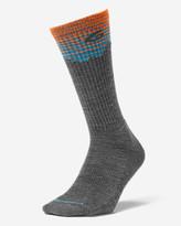 Eddie Bauer Men's Point6® Hiking Peak Light Crew Socks