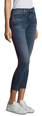 Current/Elliott Women's High Waisted Stiletto Skinny Jeans
