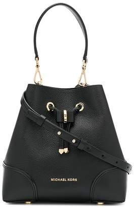 Michael Kors Mercer Gallery logo bucket bag
