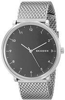 Skagen Men's SKW6175 Hald Stainless Steel Mesh Watch