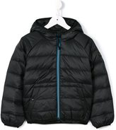 Finger In The Nose padded hooded jacket