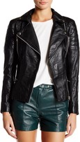 Muu Baa Muubaa Lowndes Genuine Leather Biker Jacket