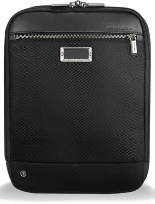 Briggs & Riley @work Expandable Ballistic Nylon Crossbody Bag with RFID Pocket