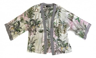 Hallhuber Multicolour Silk Jacket for Women