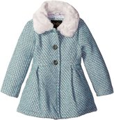 Jessica Simpson Little Girls' Single Breasted Wool Coat with Bow Back