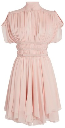 Giambattista Valli High-Neck Mini Dress