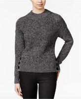 Armani Exchange Marled High-Neck Sweater