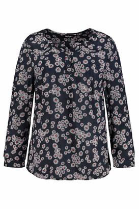 Ulla Popken Women's Groe Groen Tunika Mit Ganseblumchenprint Tunic Shirt