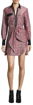 Isabel Marant Mofira Self-Tie Bow Shirtdress