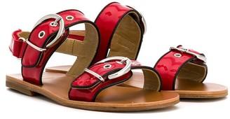 Gallucci Kids Buckle-Embellished Sandals