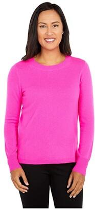 J.Crew Cashmere Crew Neck Sweater (Black) Women's Sweater