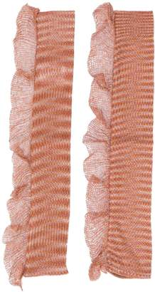 Missoni fingerless gloves