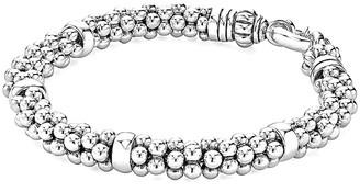 Lagos Signature Caviar Silver Bracelet