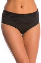 Kenneth Cole Swimwear Without Borders Solid High Waist Bikini Bottom 8145456